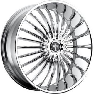 Wheel Set 24x9 5 Chrome Rims for rwd 5 6 Lug 24inch Wheels