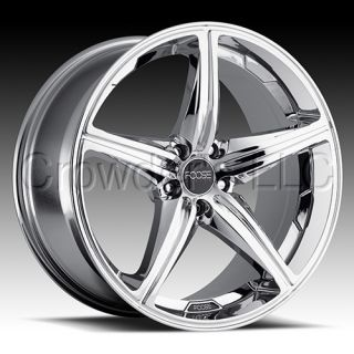 FOOSE Car Truck Wheel Rim Speed Chrome 17 inch 5 Lug