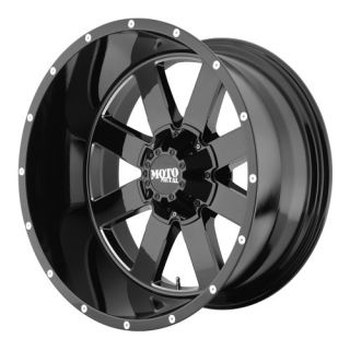 MO962 MO96221287344N 20X12 44MM OFFSET 8X170 G BLACK MACH SINGLE RIM