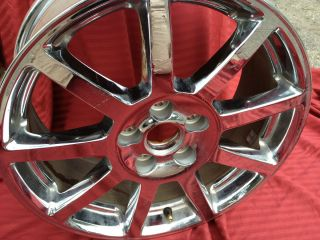 Cadillac DTS 18 2006 2007 06 07 Chrome Factory Rim Wheel