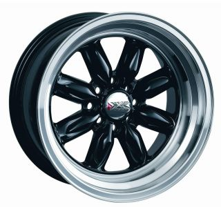 15 XXR 513 BLACK RIMS WHEELS 15x7 +15 4x114.3 DATSUN 510 280Z 280ZX