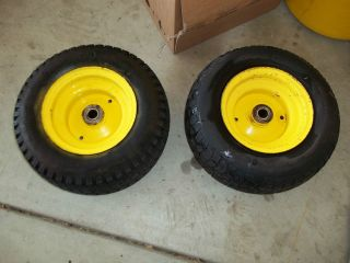 John Deere 212 Front Tires and Wheels