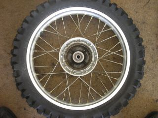 Honda CRF 230 Off 2005 05 CRF230 CRF 230F Rear Wheel Rim Tire
