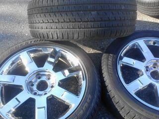 22 Cadillac Escalade Chrome Wheel Rim Tire