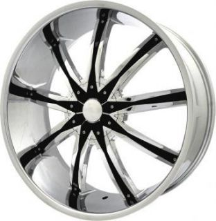 22 inch ELR20 Chrome Wheels Rim Lexus GS300 gs350 GS400