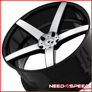 E550 E63 AMG XO Miami Concave Machined Staggered Wheels Rims