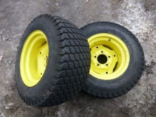 John Deere 318 Tractor Good Year 23x10 50 12 Rear Tires Rims