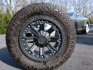 18 Flat B Procomp Wheels Rim 33 Nitto Dune Grappler Tires Chevy GMC