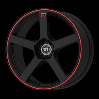 16 x7 Motegi MR116 116 Black Wheels Rims 4 5 Lug
