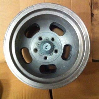 14x10 Aluminum Slot Mag Wheel Rim Hot Rod Rat Rod Gasser Old School