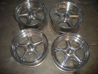 17 Billet Specialties Mopar Ford Hot Rod Wheels