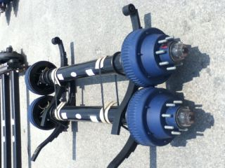 Heavy Duty Axles 10K Semi Truck Trailer Drum Brake 4 88