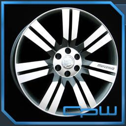 Escalade Gun Metal Machined Face Wheels GMC Chevrolet Rims
