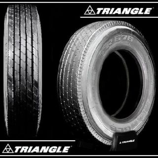 Triangle TR676 295 75R22 5 Low Pro Semi Truck Trailer Tires 11R
