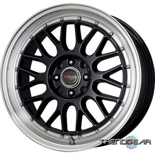 15x7 Drag DR44 4 Lug 4x100 4x114 3 Wheel Rim Center Cap