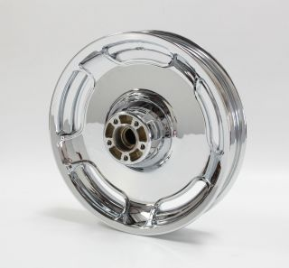 Harley Street Glide Streetglide FLHX 16 Rear Wheel Rim New Show Chrome