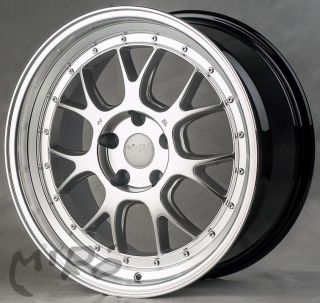 18 Miro 368 Hyper Silver Wheels Rims Ford Mustang 1994 2004