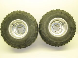 03 Kawasaki KFX400 LTZ400 Z400 Rear Wheels Rims Tires