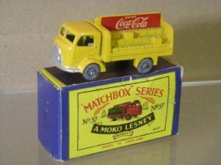 Matchbox Moko Lesney 37 Karrier Bantam Lorry Coca Cola