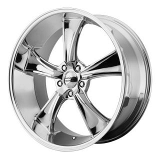 22x9 American Racing Blvd Chrome Wheel Rim s 5x120 5 120 22 9