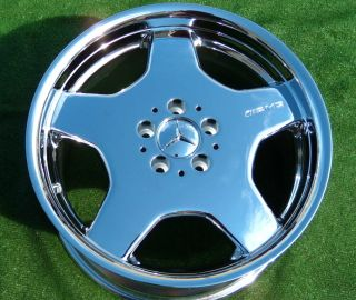 AMG Mercedes Benz Monoblock Wheels S500 S600 S430 S420 CL500