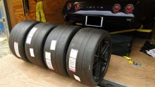 Corvette Hoosier Racing Tires and Rims