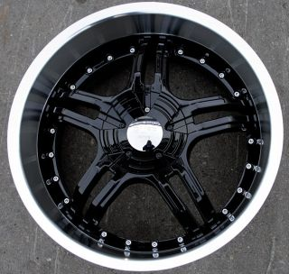 RVM 930 20 Black Rims Wheels Dodge Nitro Charger AWD