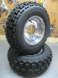 ITP Wheels and Holeshot Tires 250R TRX 400EX 450R 300EX LTR KFX 450 DS