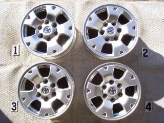 TOYOTA TACOMA TRD 16 WHEELS RIMS STOCK OEM FACTORY 16 WHEEL 4RUNNER FJ