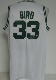 Larry Bird Celtics Signed Autographed Jersey Larry Bird Holo Adidas