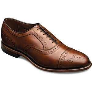 Allen Edmonds Mens Strand Walnut Calf Shoes   1635