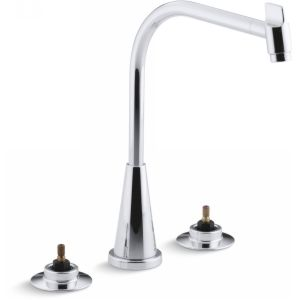 Kohler K 7776 K CP Triton Two Handle Kitchen Faucet
