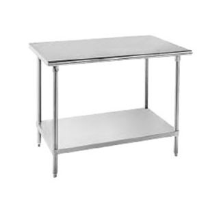 Advance Tabco 36 Work Table   30 W, 16 ga 430 Stainless Top, All Stainless