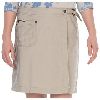 Woolrich Canoe Creek Skort   UPF 50+ (For Women)   DARK STONE (L )