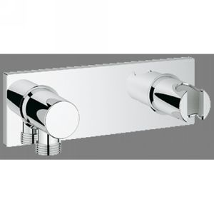Grohe 27621000 Grohterm F Wall Shower Union with Integrated Shower Holder