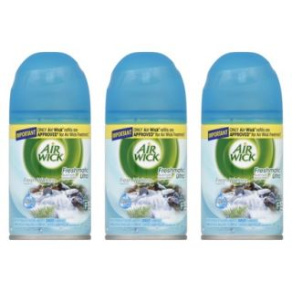 Air Wick Freshmatic Ultra Automatic Spray, Refill   FRESH WATERS, 6.17 Ounces,
