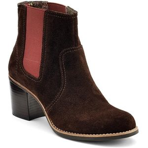 Sperry Top Sider Womens Marlow Brown Suede Boots   9599523