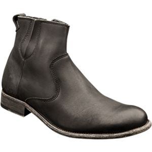 Bacco Bucci Mens Cotton Black Boots   6815 97 001