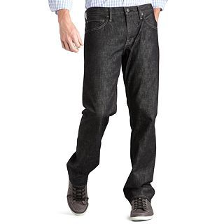 ARIZONA Original Straight Jeans, Black, Mens