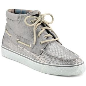 Sperry Top Sider Womens Betty Chukka Boot Grey Jersey Boots   9511809