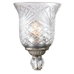Golden Lighting GOL G8118 BA ICR Alston Place Iced Crystal Glass