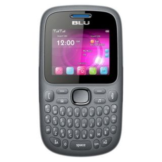 BLU Samba W Q170W Unlocked Cell Phone for GSM Compatible   Grey