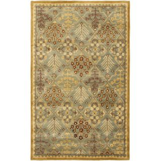 Safavieh Antiquities Light Blue / Gold AT613A Rug Size 4 x 6