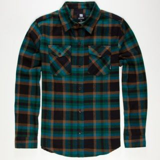 Rolling Stone Mens Flannel Shirt Teal Blue In Sizes Small, X Large, Medi