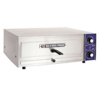 Bakers Pride 17.63 in Countertop Pizza Oven w/ Stainless Exterior, 240 V