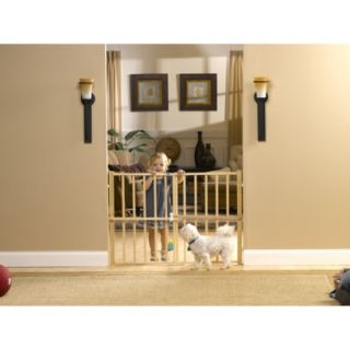 GuardMaster III 478 Tall Wood Slat Pressure Baby and Pet Gate