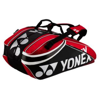 Yonex Pro Nine Pack Tennis Bag Red/Black