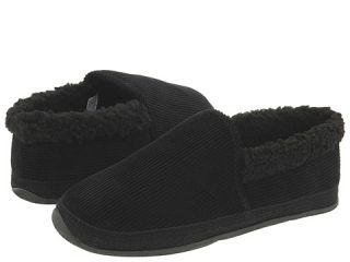 Deer Stags Strings Mens Slippers (Black)