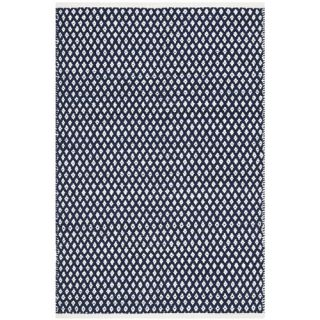 Safavieh Boston Bath Mats Navy Rug BOS685D  Rug Size 4 x 6