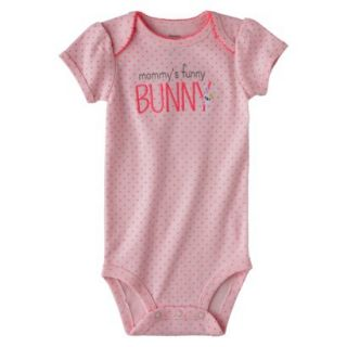 Just One YouMade by Carters Newborn Girls Buddy Bodysuit   Pink 6 M